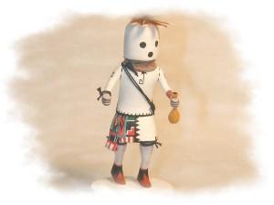 Eototo Kachina Katsina February Bean Dance Doll For Sale