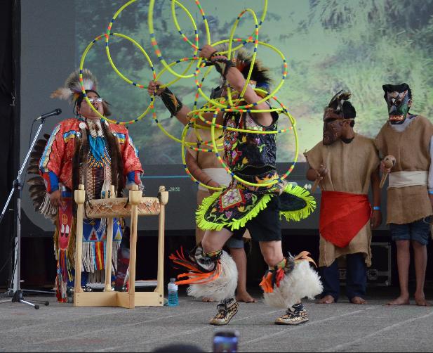 Brian Hammil Native American Hoop Dancer Championship