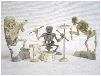Day of the Dead Skeletons Fetishes