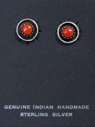 Zuni Silver Earrings