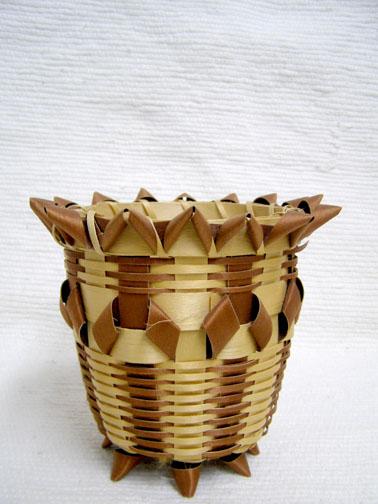 Varieties of Native American Made Baskets