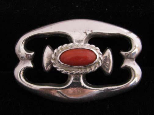 Silver Navajo Pin