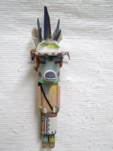 Traditional Hopi Carved Antelope Katsina Doll