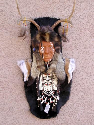 Native American mask Hopi Deer Dancer