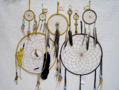 Native American Navajo Made Dreamcatchers