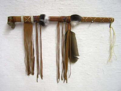 Native American Made Ceremonial Peace Pipe