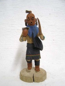 Hopi Mudhead Katsina Doll