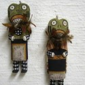 Old Style Katsina Dolls: The Frog and Lizard