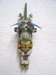 Hopi lizard katsina doll