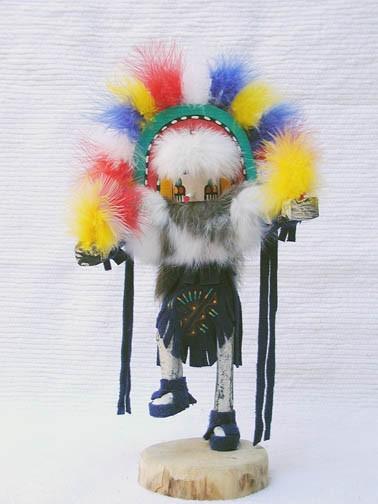 Navajo made rainbow kachina doll