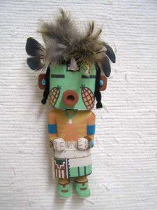 hopi carved corn dancer