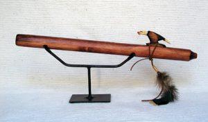 navajo made pine flute