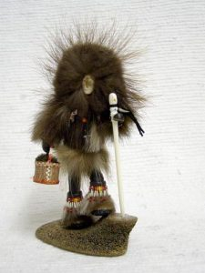 Native Alaskan Made Qaviq Doll