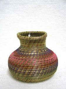 Native American Chippewa Basket--Spouts