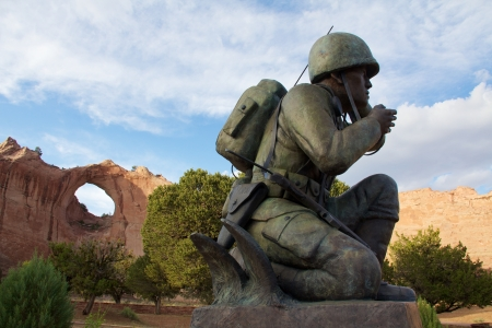 Honoring the Navajo Code Talkers