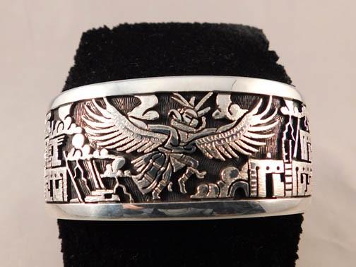 Native American Eagle Cuff Bracelet