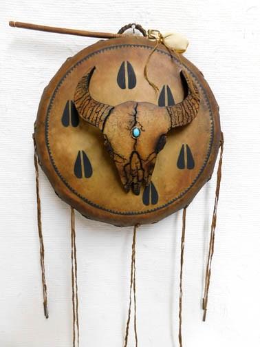 Native American Handpainted Drum
