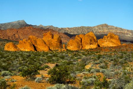 Seven Sisters in Nevada