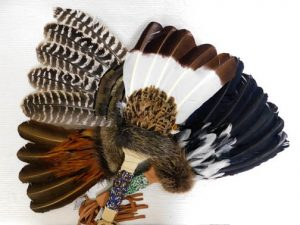 Native American Prayer Fan
