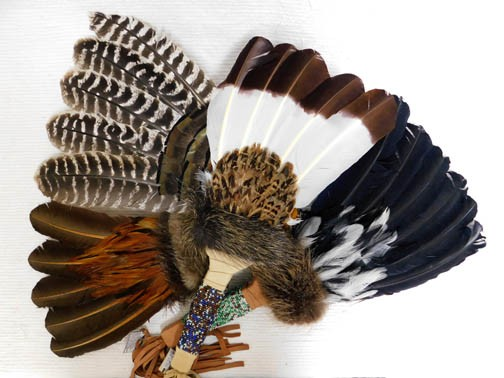 Native American Prayer Fan