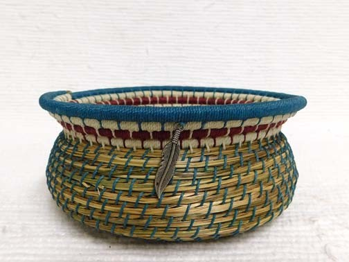 Native American Chippewa Basket