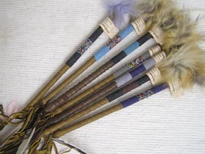 Native American Talking Sticks