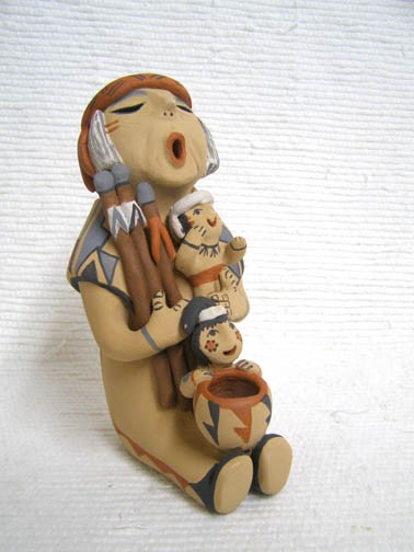 What is the Native American Storyteller Doll?
