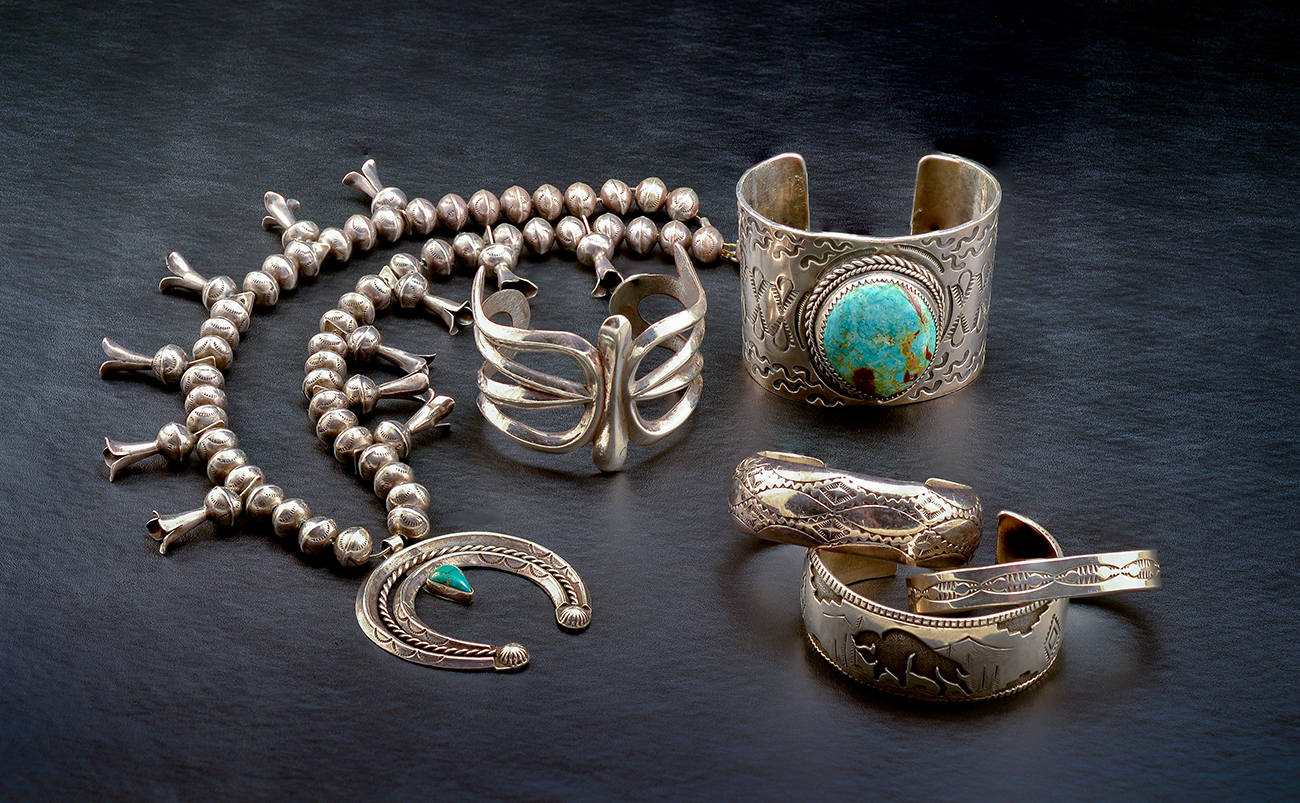 A History of Hopi Jewelry - A Collection of Sterling Silver Native American Jewelry