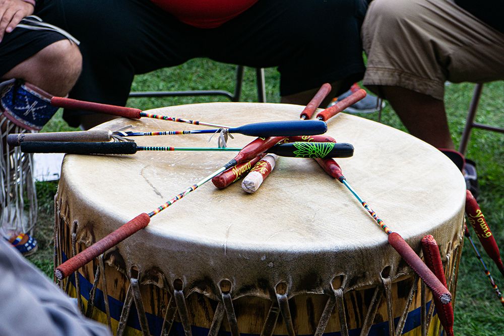The Names and Sounds of Native American Drums