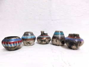 Painted Horsehair Pots